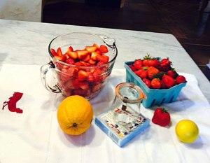Strawberries Before