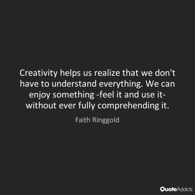 faith ringgold quote