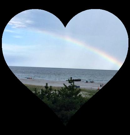 Sea Isle rainbow